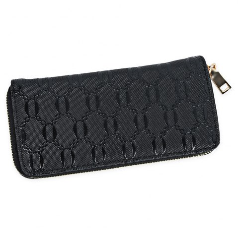 Online Guapabien Fashion Geometric Patterns Square Cross-section Large Capacity Women Clutch Wallet