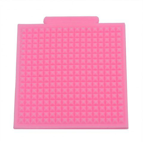 New Texture Wool Jersey Silicone Fondant Cake Decoration Mold PINK