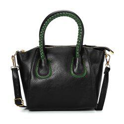 Guapabien Trendy Twisted Wire Embellished Women PU Tote Bag -