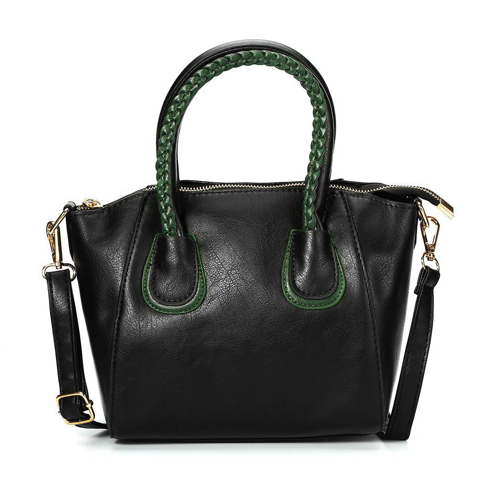 Unique Guapabien Trendy Twisted Wire Embellished Women PU Tote Bag
