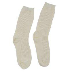 Autumn Winter Casual Solid Color Cotton Heap Socks for Women