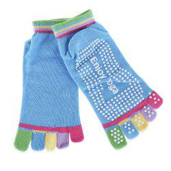 Yoga Socks Non-slip Skid with Full Toe Grips