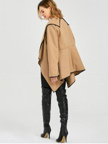 Outfit Long Sleeve Long Woolen Cardigan Type Coat - L CAMEL Mobile