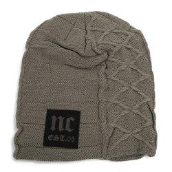 Casual Winter Warm Solid Color Knitted Hat for Men