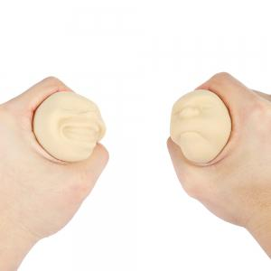 Caomaru Vent Human Face Ball Anti-stress Ball of Japanese Design -