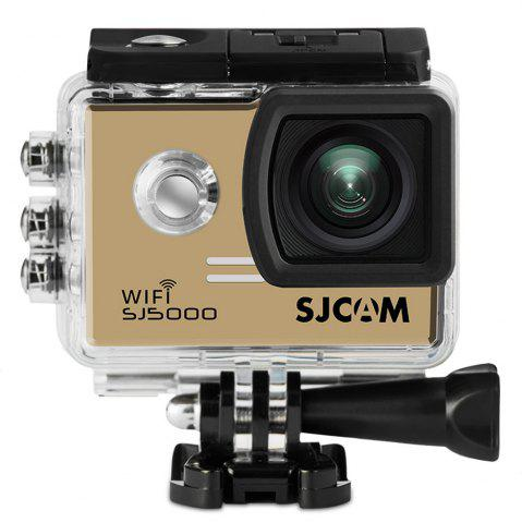 SJCAM SJ5000 2 Inch Screen 1080P Wifi Sports Video Camera Camcorder Novatek 96655 170 Degree Wide Angle Lens Support 32GB TF Card - Golden - W16 Inch * L47 Inch