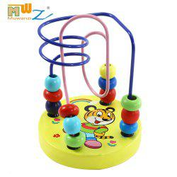 Muwanzi Mini Beaded Wooden Desktop Educational Game Toys for Kids - TIGER