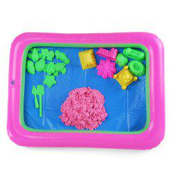 Chromatic Castle Mold Space Sand Toy for Children