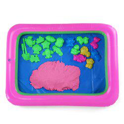 Chromatic Animal Mold Space Sand Toy for Children