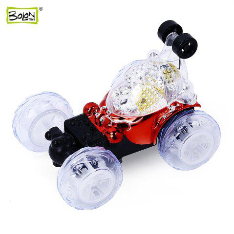 Fancy BOLON TOYS Rotatable Remote Control Stunt Car - RED  Mobile