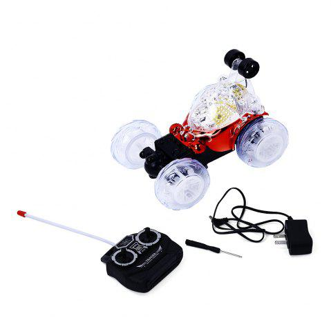 Chic BOLON TOYS Rotatable Remote Control Stunt Car - RED  Mobile