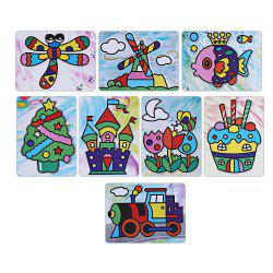 Sticky Painting Educational DIY Toy for Children