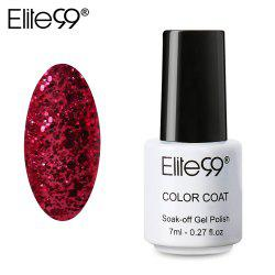Elite99 7ml Colorful DIY UV Gel Curing Lamp Nail Polish - 1852