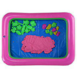 Chromatic Fruit Mold Space Sand Toy for Children
