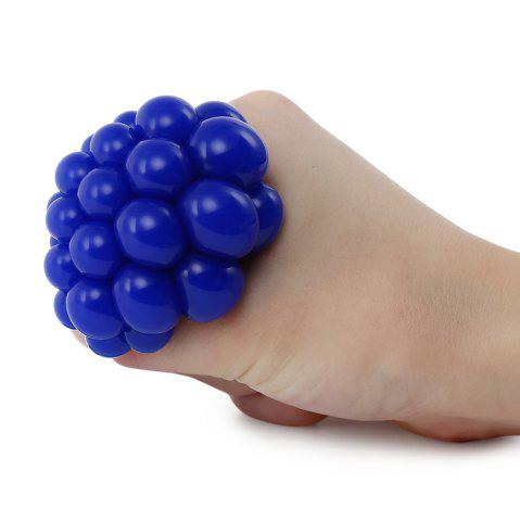 Shop Grape Vent Ball Stress Relief Squeezing Toy - BLUE  Mobile
