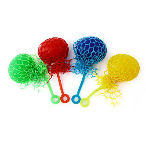 Cheap Grape Vent Ball Stress Relief Squeezing Toy - BLUE  Mobile