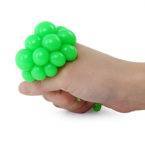 Affordable Grape Vent Ball Stress Relief Squeezing Toy - GREEN  Mobile