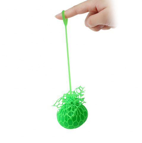 Unique Grape Vent Ball Stress Relief Squeezing Toy - GREEN  Mobile