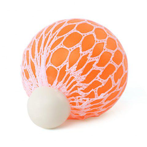 Store Mesh Grape Vent Ball Stress Relief Squeezing Toy - MANDARIN  Mobile