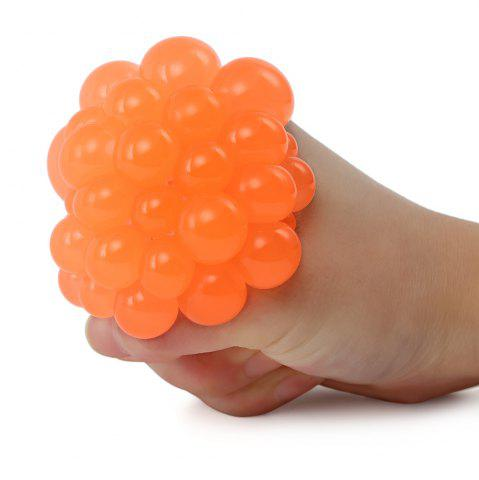 Buy Mesh Grape Vent Ball Stress Relief Squeezing Toy - MANDARIN  Mobile