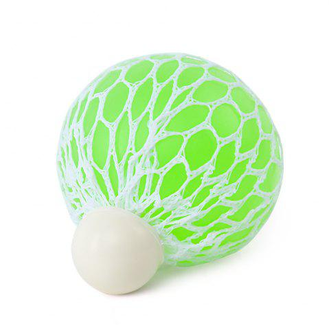 Buy Mesh Grape Vent Ball Stress Relief Squeezing Toy - TURQUOISE  Mobile