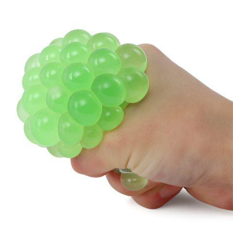 Unique Mesh Grape Vent Ball Stress Relief Squeezing Toy - TURQUOISE  Mobile