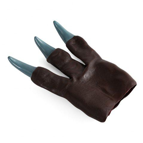 Latest Dinosaur Claw Hand Puppet Toy - BROWN  Mobile
