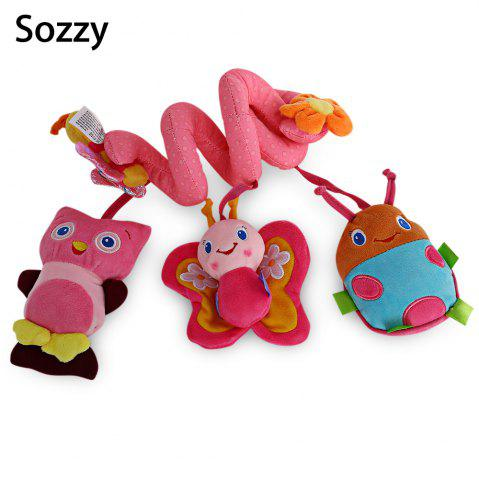 Shop Sozzy Animal Shape Baby Music Bed Hanging Toy - PINK  Mobile