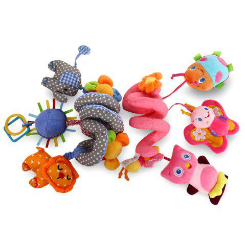 Outfits Sozzy Animal Shape Baby Music Bed Hanging Toy - PINK  Mobile