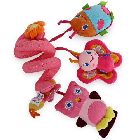 Sale Sozzy Animal Shape Baby Music Bed Hanging Toy - PINK  Mobile