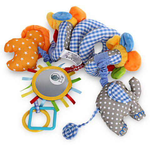 Discount Sozzy Animal Shape Baby Music Bed Hanging Toy - BLUE  Mobile
