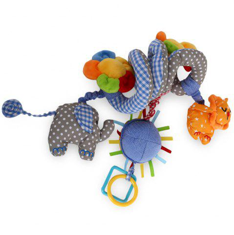 Chic Sozzy Animal Shape Baby Music Bed Hanging Toy - BLUE  Mobile