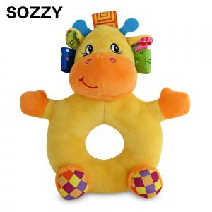 Sozzy Cartoon Animal Baby Handbell Toy