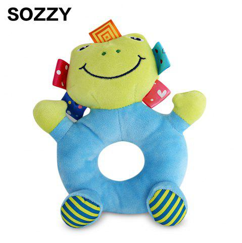 Online Sozzy Cartoon Animal Baby Handbell Toy - FROG COLORMIX Mobile
