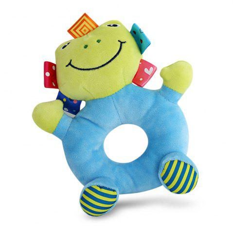 Discount Sozzy Cartoon Animal Baby Handbell Toy - FROG COLORMIX Mobile