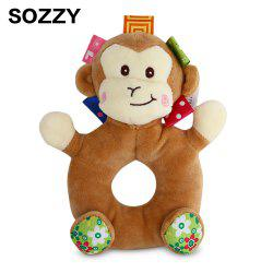 Sozzy Cartoon Animal Baby Handbell Toy - COLORMIX