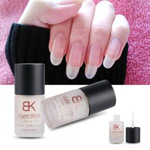 Magic Super Matte Transfiguration Nail Polish Top Coat Frosted Surface Oil -