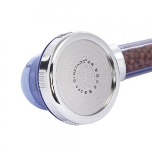 GINETARR Three Mode Adjustable Pressure Boosting Water-saving Shower Head -
