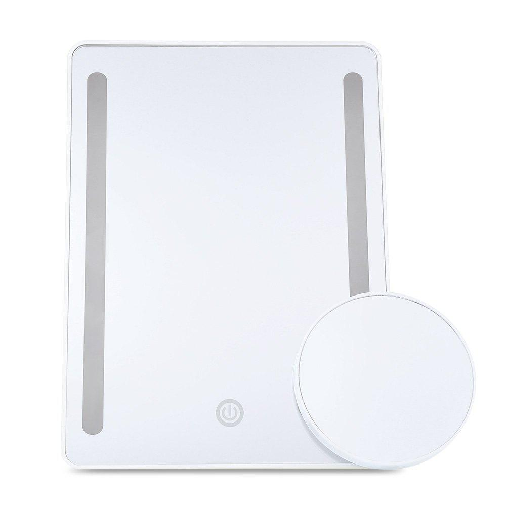 Outfits Newly Table Dimmable LED Lighted Makeup Mirrors with 10X Magnifier