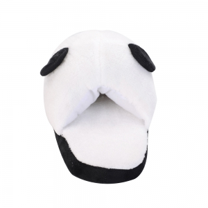Cute Panda Home Slippers Winter Coral Velvet Upper Anti-skip Outsole -