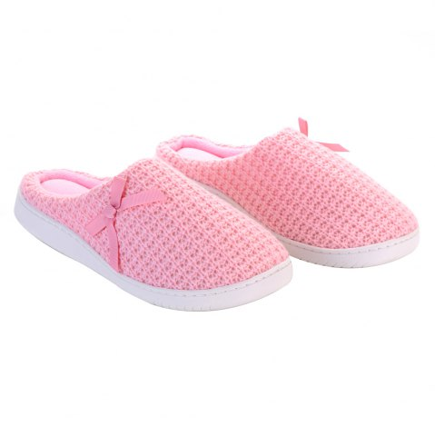 Unique Ladies Cashmere Cotton Knitted Anti-slip House Slippers