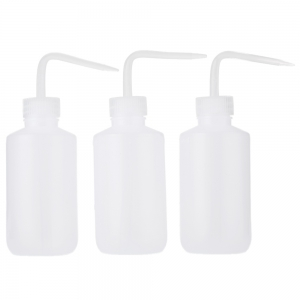 3pcs 250ml Non-Spray Tattoo Diffuser Green Soap Supply Wash Squeeze Bottle Lab -