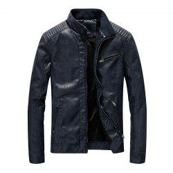 Men Fashion Leather Jacket -