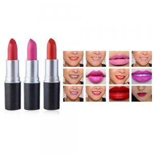 12 Charming Colors Waterproof Long Lasting LipsStick Makeup Cosmetics -