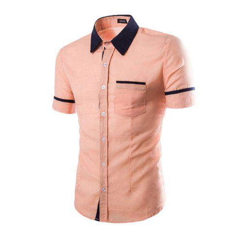 Online Men's Casual Short Sleeved Shirts