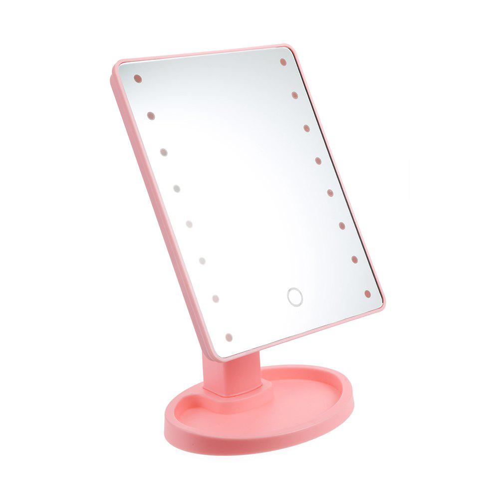 Discount 360 Degree Rotating LED Touch Screen Large Makeup Mirror