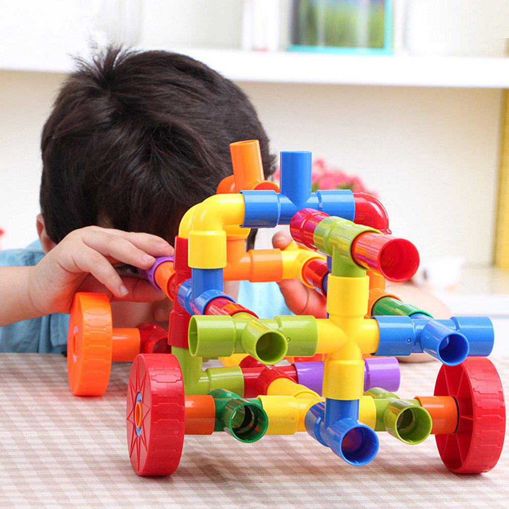 72pcs Water Pipe Building Blocks