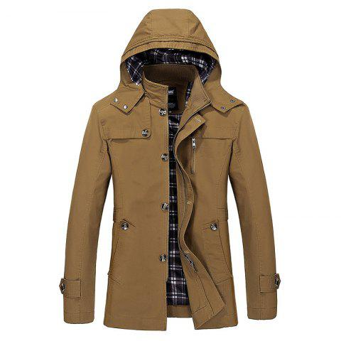 Latest Solid Big Size Leisure Coat