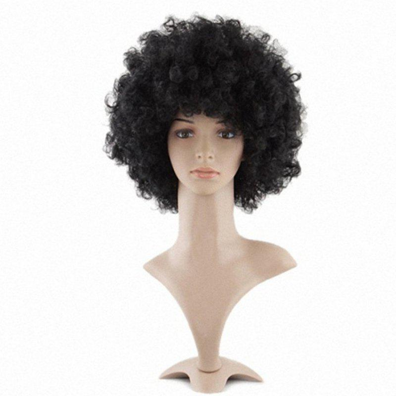 Outfit Mannequin Head African American Afro Hair with Manikin for Practice Styling Braiding
