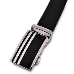 Men'S Leather Steel Line Belt -